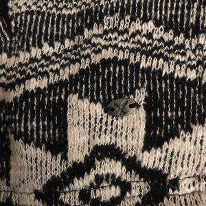 American Eagle Aztec print zip hoodie